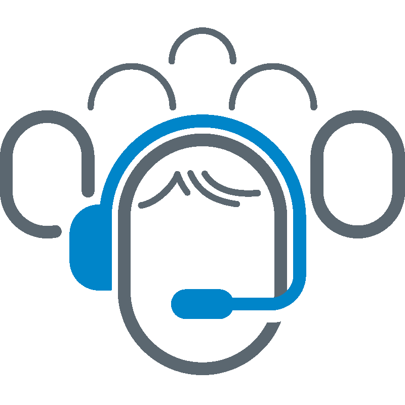 Fintech Call Center Icon